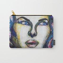 Pop Art Woman Carry-All Pouch
