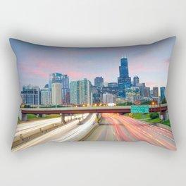 Chicago 02 - USA Rectangular Pillow