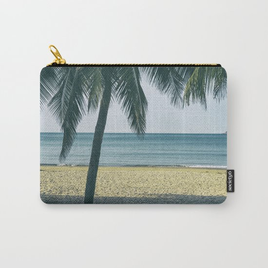 Under the palm tree shadows Carry-All Pouch