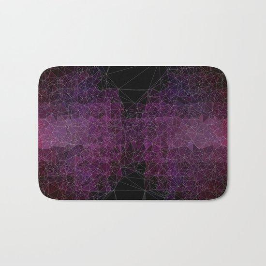 Abstract Polygons Bath Mat