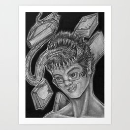 Feed Your Mind Art Print