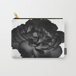 Black peony Carry-All Pouch