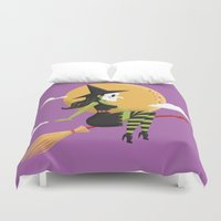 witch Duvet Covers featuring Witch by John Clark IV