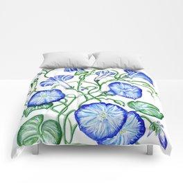 Morning Glory Vine Comforters