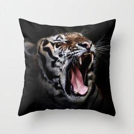 Tiger 7 Throw Pillow