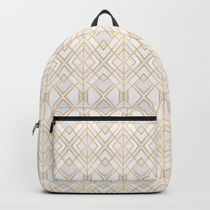 Golden Geo Backpack