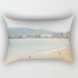 La Concha Beach, San Sebastian - Donostia-San, Spain Rectangular Pillow