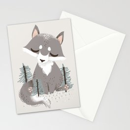 "The ""Animignons"" - the Wolf Stationery Cards"