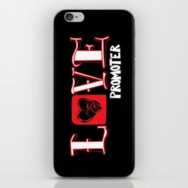 Love Promoter iPhone Skin