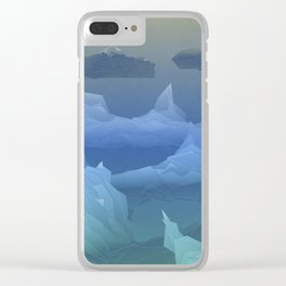 Antarctica Clear iPhone Case