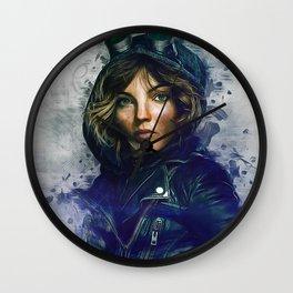 Selina Kyle Wall Clock