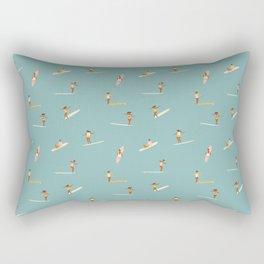 Surf girls Rectangular Pillow