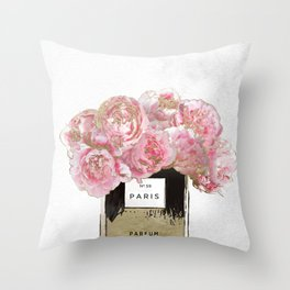 Pink Scented Throw Pillow