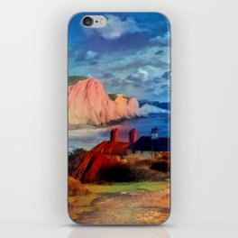 Dover in the Colors Of Ayers Rock iPhone Skin