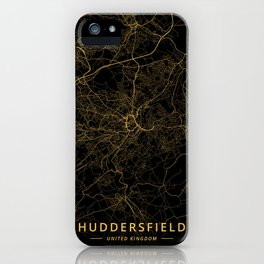 Huddersfield, United Kingdom - Gold iPhone Case