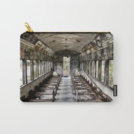 Abandoned Train Car Carry-All Pouch