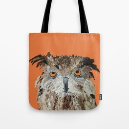 Wise Owl.  Hootie, Who, Who Tote Bag