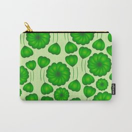 Floral greenery Carry-All Pouch