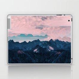 Pastel mountain mood Laptop & iPad Skin