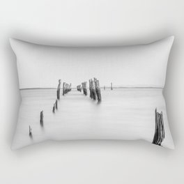 Old Tenby Point Jetty Rectangular Pillow