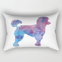 Poodle Rectangular Pillow