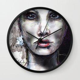 Visage V Wall Clock