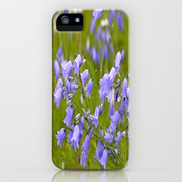 Bluebells Meadow #decor #society6 iPhone Case