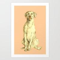 Labradorable Art Print
