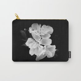 geranium in bw Carry-All Pouch