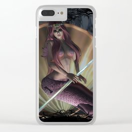 Lost World- Sirena's Primal Power Clear iPhone Case