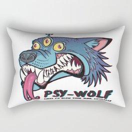PsyWolf Rectangular Pillow