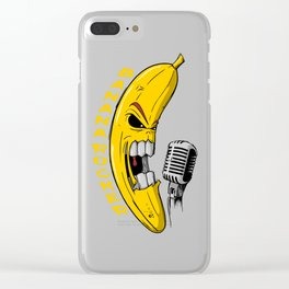 Banana Rock! Clear iPhone Case