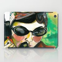 amelie iPad Cases featuring Amelie by Gra Pereira