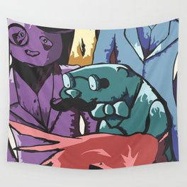 Paper Jam Poster Wall Tapestry