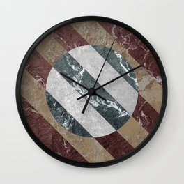 Marble Illusion Wall Clock