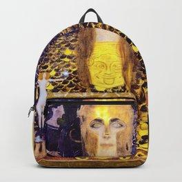 Gustav Klimt - Pallas Athena - Digital Remastered Edition Backpack