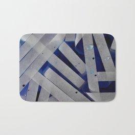 water stripes Bath Mat