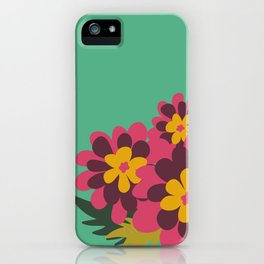 Flowers for Lola iPhone Case