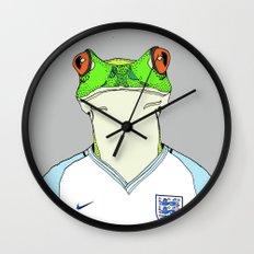 Football Frog Wall Clock