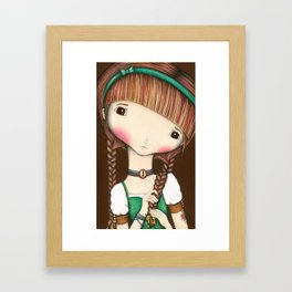 You're Blushing Framed Art Print