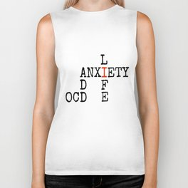 ADD/OCD/Anxiety Biker Tank