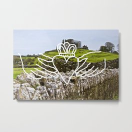 claddagh to me Metal Print