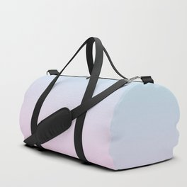 VAPORWAVE - Minimal Plain Soft Mood Color Blend Prints Duffle Bag