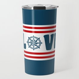 Love compass Travel Mug