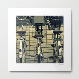 Tokyo Bikes Metal Print