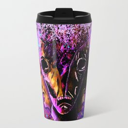 Split-Face Travel Mug