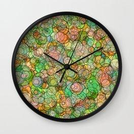 Bubble Culture Wall Clock