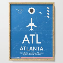 Hartsfield–Jackson Atlanta International Airport Serving Tray