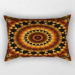 Ethno Sunset over the desert Rectangular Pillow