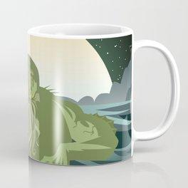 evil sea cthulthu monster Coffee Mug